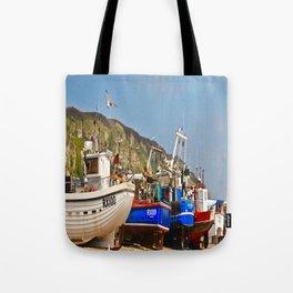 Fisherman's Beach Tote Bag