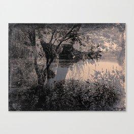 Parc des 4 pins Canvas Print