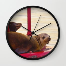 Buoy Boys Wall Clock