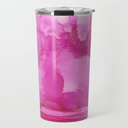 Ultra Pink Petals Travel Mug