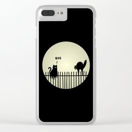 Catrick's Halloween Tricks Clear iPhone Case