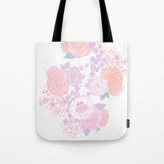 Feline Florals Tote Bag