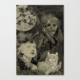 Fog Weaver Canvas Print