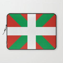 Basque Country: Euskaldun Flag Laptop Sleeve