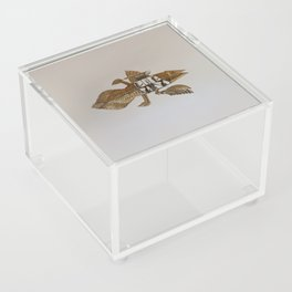 Coelacanth (brass) Acrylic Box