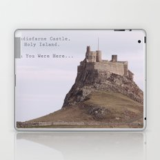 postcard from lindisfarne castle... Laptop & iPad Skin