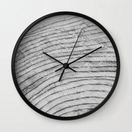 Tree Rings I Wall Clock