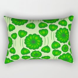 Floral greenery Rectangular Pillow