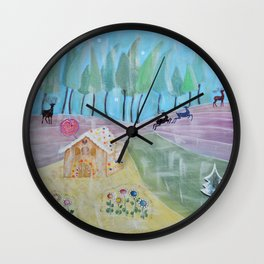 Ginger house Wall Clock