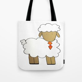 The Sheep Familly Tote Bag