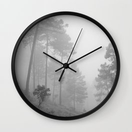 Foggy morning. Wander Wall Clock