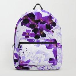 Invert Clematis Design Backpack
