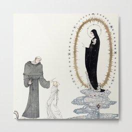 """""""Meeting the Virgin"""" by Kay Nielsen 1910 Metal Print"""