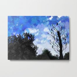 Living woods Metal Print
