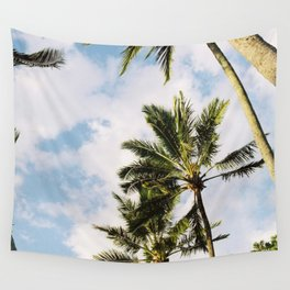 Palm tree in Cairns Wall Tapestry