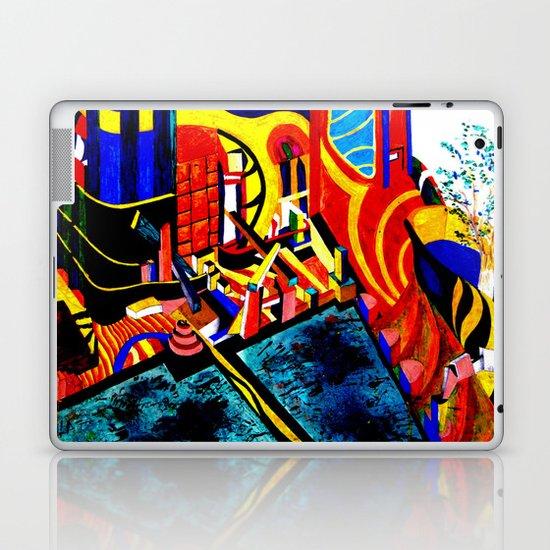 US & Japanese landscape nightmare   Laptop & iPad Skin