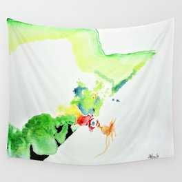 Chicken Thought Wall Tapestry