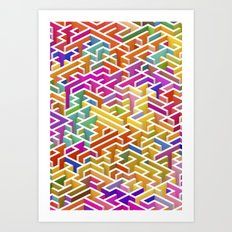 Labyrinth I Art Print