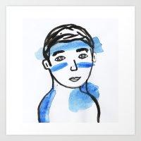 Malbo Art Print