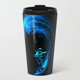 Space Surfing Travel Mug