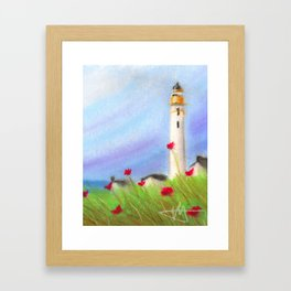 Idyllic Summer Framed Art Print