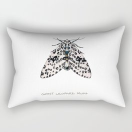 Giant Leoprd Moth Rectangular Pillow