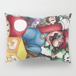 Mario et ses amis Pillow Sham
