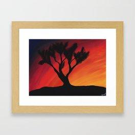 Sunset- Digital Print Framed Art Print