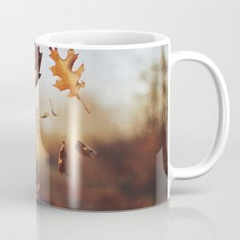 Autumn leaves as quickly as it arrives. Coffee Mug