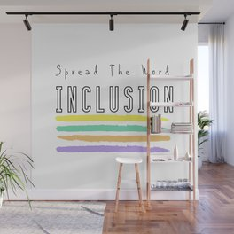 INCLUSION Wall Mural