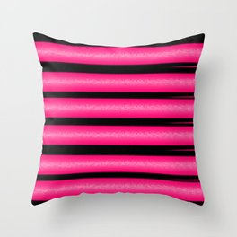 NL 9 3 Pink and Black Throw Pillow