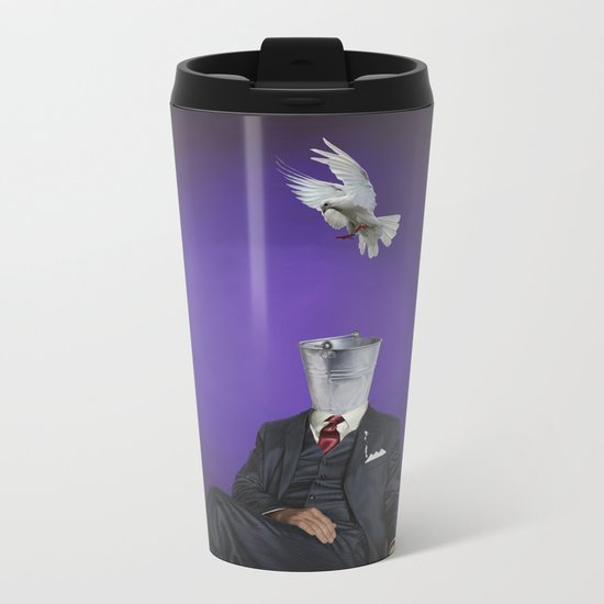 Capture Metal Travel Mug