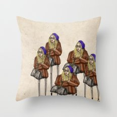 Mary-Kate Olsen Throw Pillow