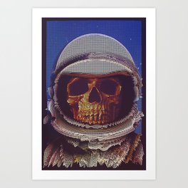 At A Certain Distance In space Or Time Art Print