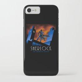 Sherlock Cartoon iPhone Case