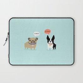 Dog Fart Laptop Sleeve