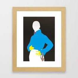 Pop Portrait · Ingres 4 Framed Art Print