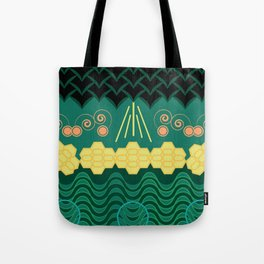Rainforest HARMONY pattern Tote Bag