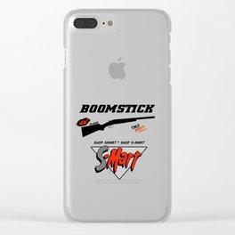 BOOMSTICK Clear iPhone Case