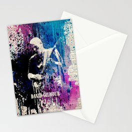 DAVID GILMOUR on dictionary Stationery Cards