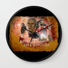 Doctor Who: Robot of Sherwood Wall Clock