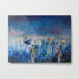 rain or shine Metal Print