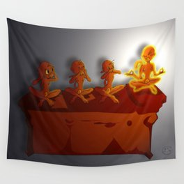 All No Evil Wall Tapestry