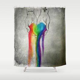 Agape Shower Curtain