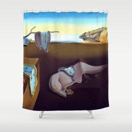 Salvador Dali The Persistence of Memory 1931 Artwork, Wall Art, Prints, Posters, Tshirts, Men, Women Shower Curtain