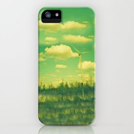 Wind Mills iPhone Case