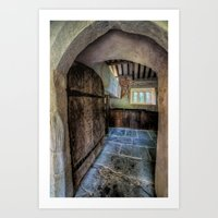pagan Art Prints featuring Pagan Church by Adrian Evans