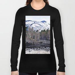 Vulcano Etna on the Isle of Sicily Long Sleeve T-shirt