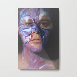 Colors of Women, T.F. Metal Print