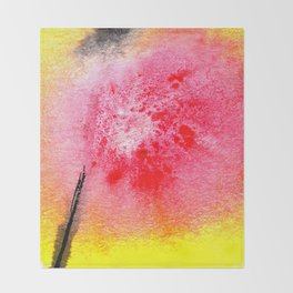 flower VII Throw Blanket